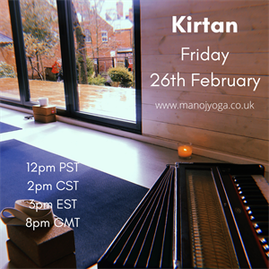 26.02.21 Kirtan for Warley Woods 8:00pm-9:00pm GMT